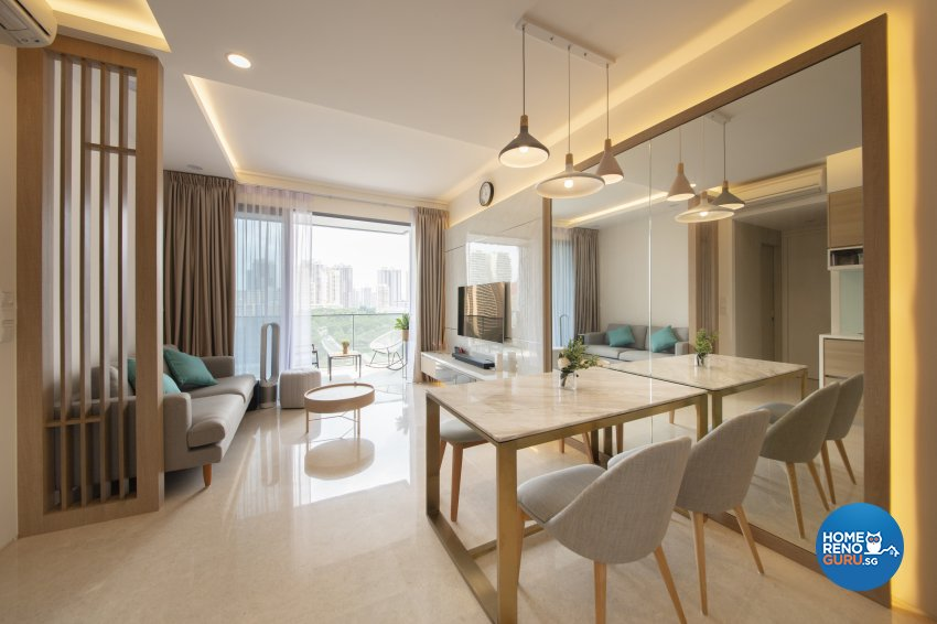 Contemporary, Modern Design - Dining Room - Condominium - Design by Starry Homestead Pte Ltd