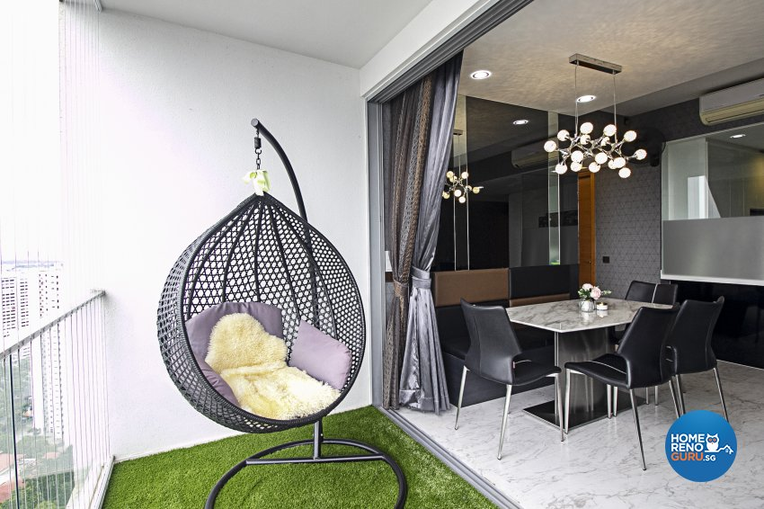 Modern Design - Garden - Condominium - Design by Starry Homestead Pte Ltd