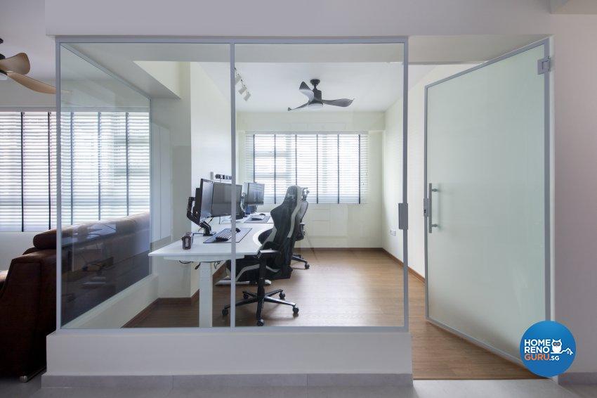 Scandinavian Design - Study Room - Condominium - Design by Starry Homestead Pte Ltd
