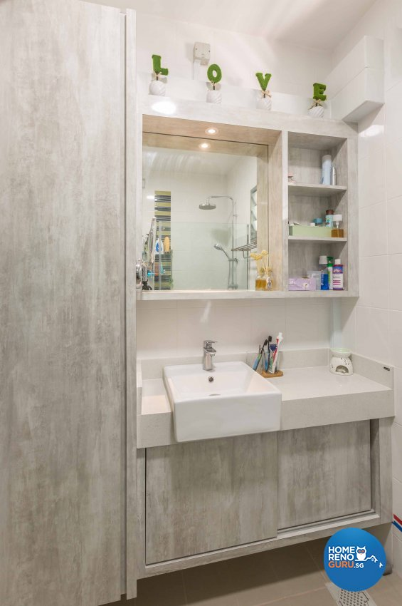 Modern Design - Bathroom - HDB 4 Room - Design by Starry Homestead Pte Ltd