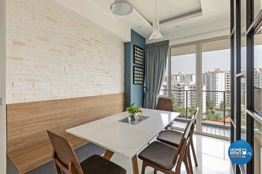 Modern Design - Dining Room - Condominium - Design by Starry Homestead Pte Ltd