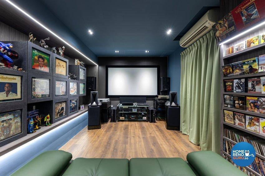 Modern Design - Entertainment Room - Condominium - Design by Starry Homestead Pte Ltd