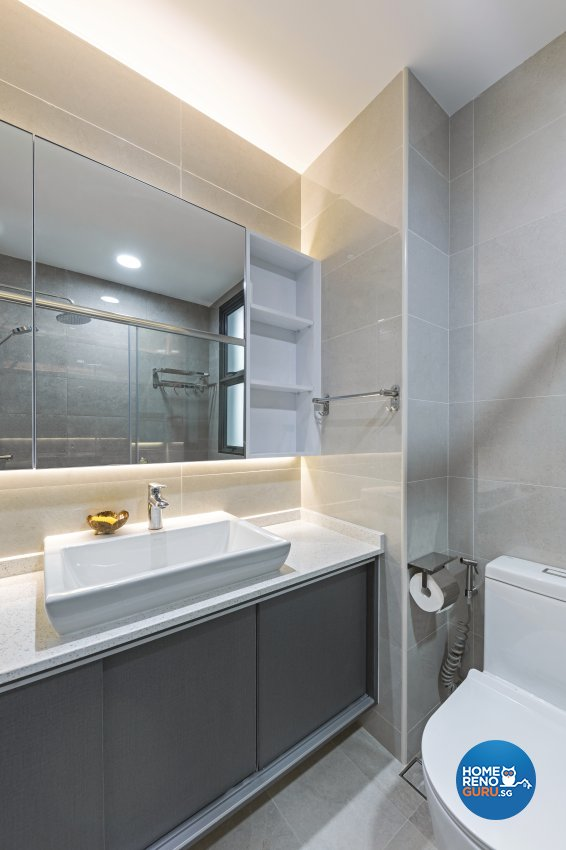Modern, Victorian Design - Bathroom - Condominium - Design by Starry Homestead Pte Ltd
