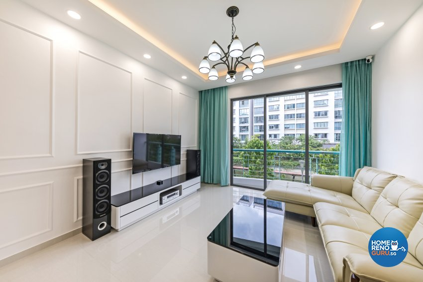 Modern, Victorian Design - Living Room - Condominium - Design by Starry Homestead Pte Ltd