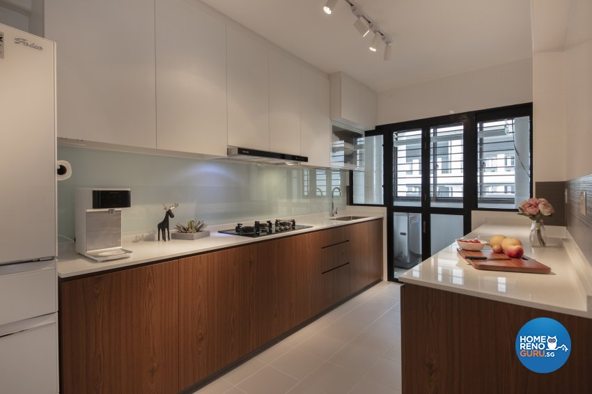 Contemporary, Industrial Design - Kitchen - HDB 5 Room - Design by Starry Homestead Pte Ltd