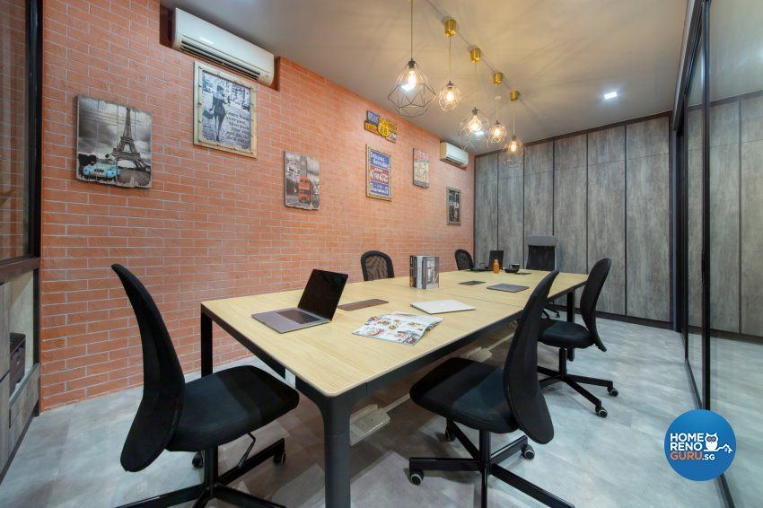 Industrial Design - Commercial - Office - Design by Starry Homestead Pte Ltd