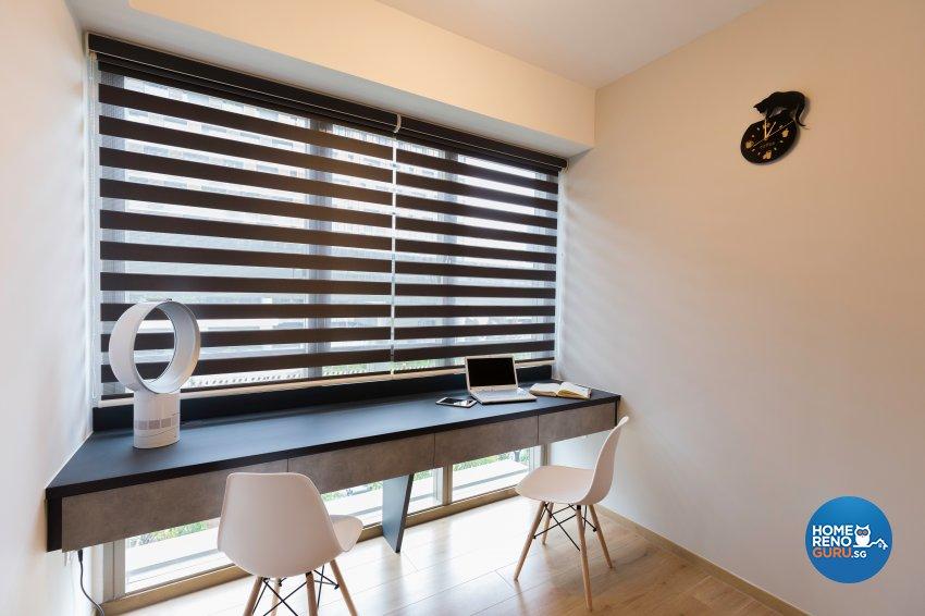 Contemporary, Modern Design - Study Room - Condominium - Design by Starry Homestead Pte Ltd
