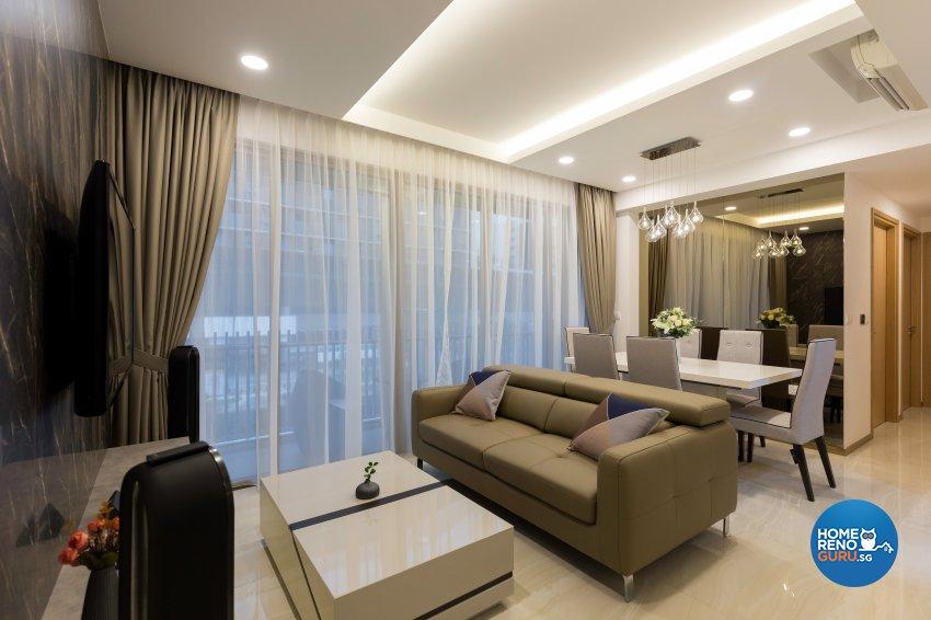 Contemporary, Modern Design - Living Room - Condominium - Design by Starry Homestead Pte Ltd