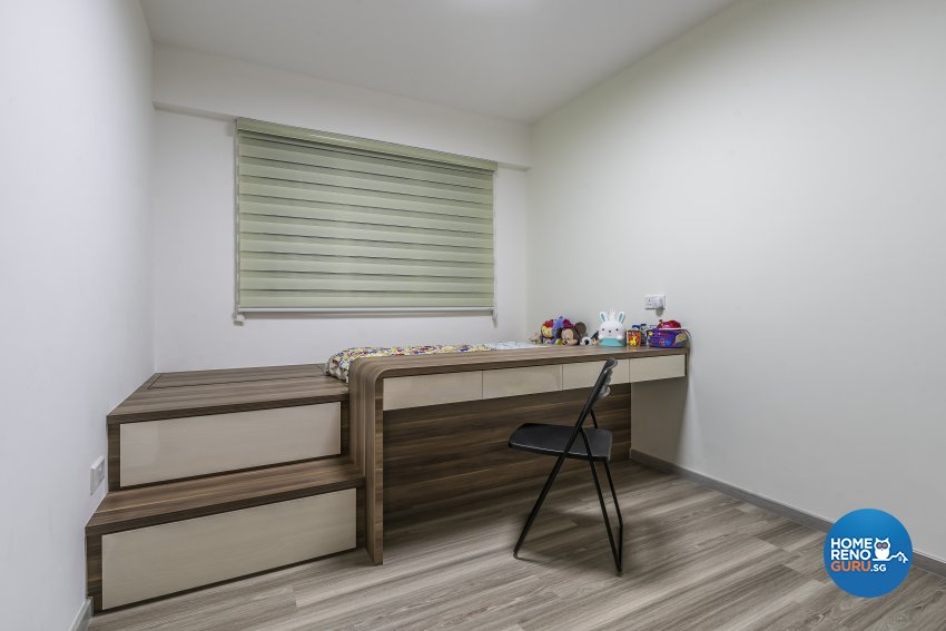 Scandinavian Design - Study Room - HDB 4 Room - Design by Starry Homestead Pte Ltd