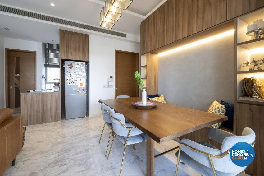 Vintage Design - Dining Room - Condominium - Design by Starry Homestead Pte Ltd