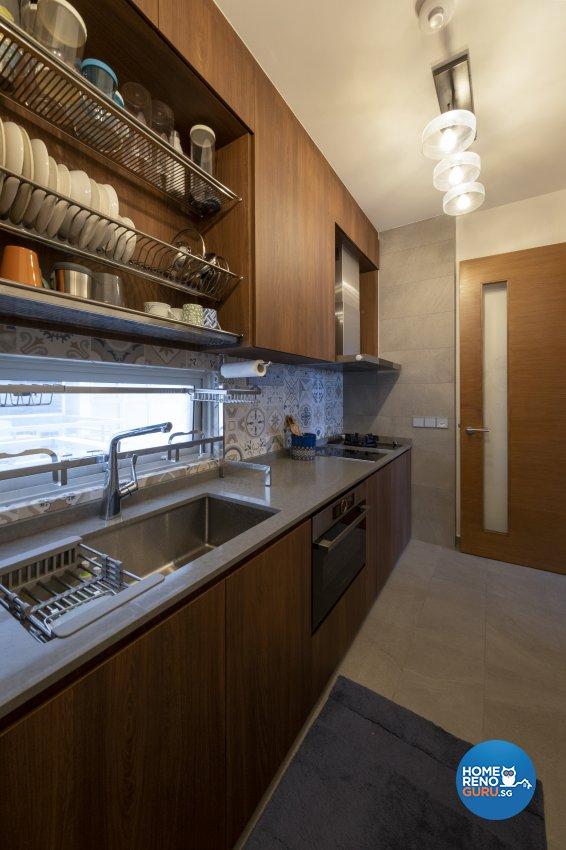 Vintage Design - Kitchen - Condominium - Design by Starry Homestead Pte Ltd