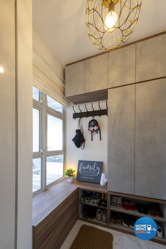 Vintage Design - Living Room - Condominium - Design by Starry Homestead Pte Ltd