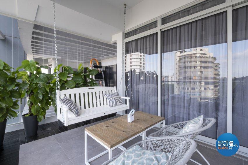 Vintage Design - Entertainment Room - Condominium - Design by Starry Homestead Pte Ltd