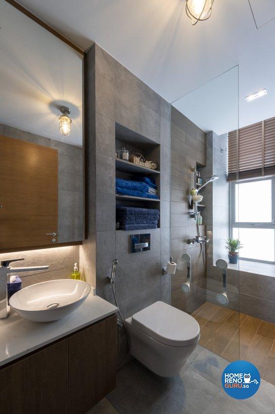 Vintage Design - Bathroom - Condominium - Design by Starry Homestead Pte Ltd