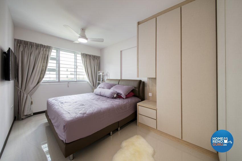 Scandinavian Design - Bedroom - HDB 4 Room - Design by Starry Homestead Pte Ltd