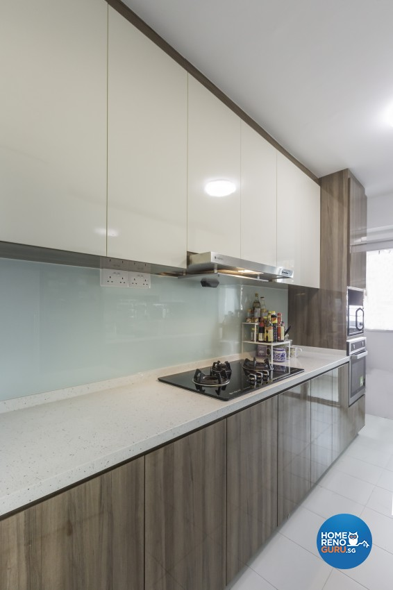 Modern Design - Kitchen - HDB 5 Room - Design by Starry Homestead Pte Ltd