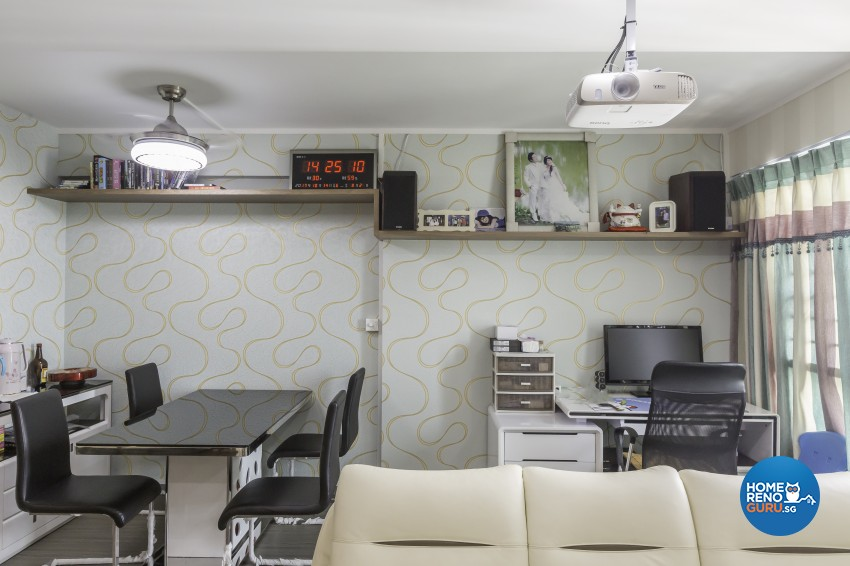 Modern Design - Dining Room - HDB 5 Room - Design by Starry Homestead Pte Ltd