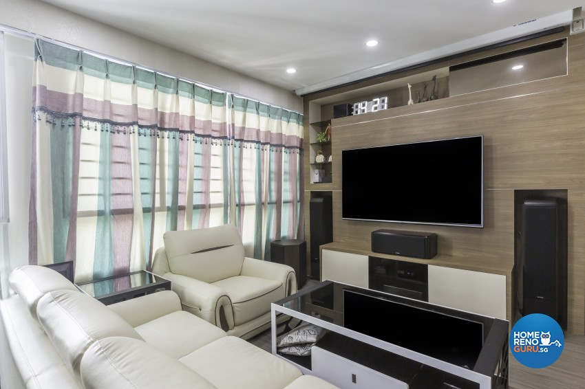 Modern Design - Living Room - HDB 5 Room - Design by Starry Homestead Pte Ltd