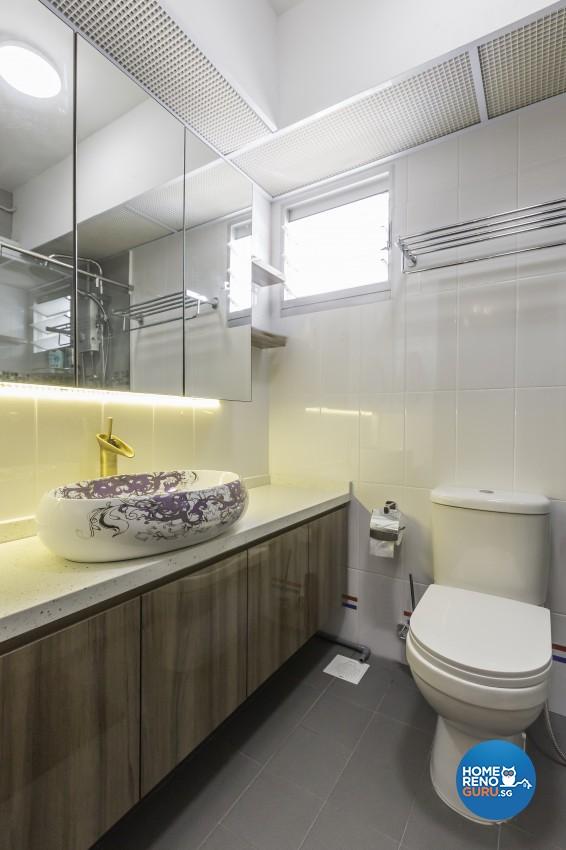Modern Design - Bathroom - HDB 5 Room - Design by Starry Homestead Pte Ltd