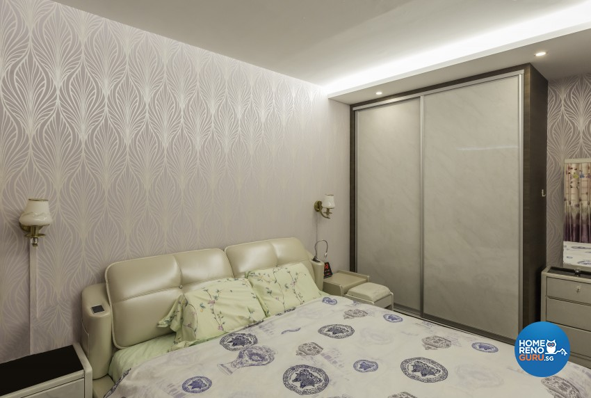 Modern Design - Bedroom - HDB 5 Room - Design by Starry Homestead Pte Ltd