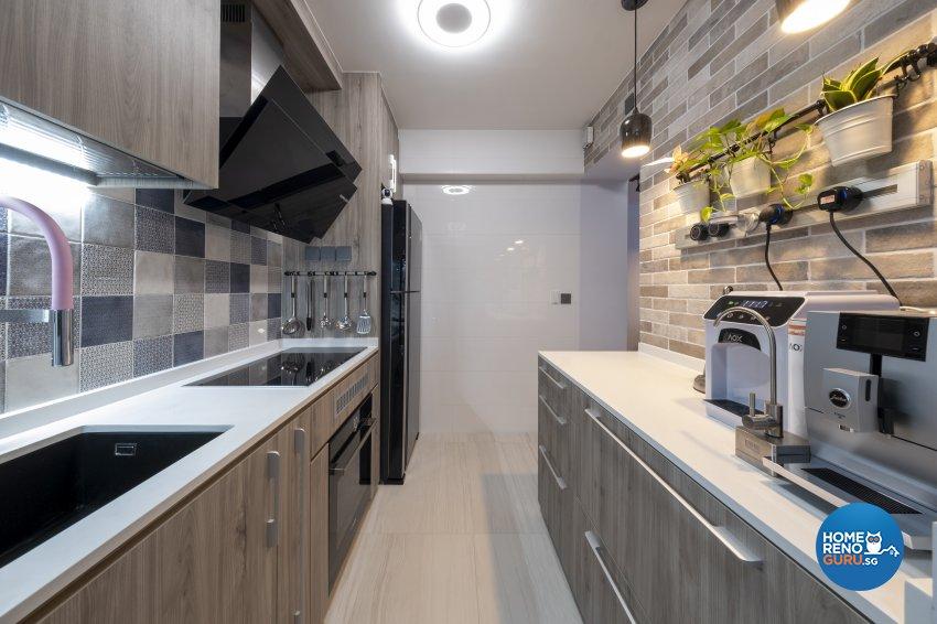 Modern Design -  - HDB 3 Room - Design by Starry Homestead Pte Ltd