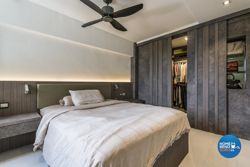 Contemporary, Modern Design - Bedroom - HDB 3 Room - Design by Starry Homestead Pte Ltd