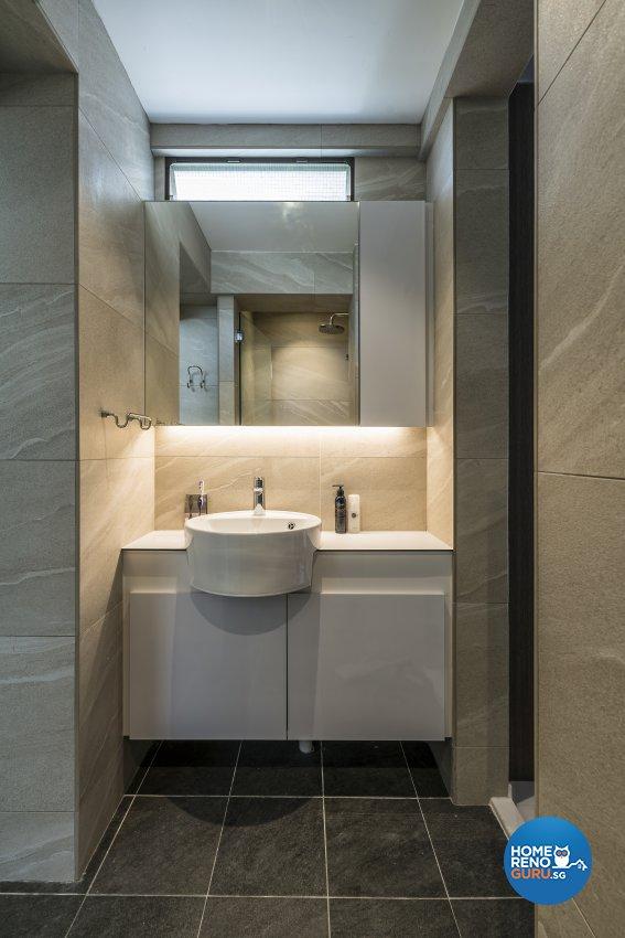 Contemporary, Modern Design - Bathroom - HDB 3 Room - Design by Starry Homestead Pte Ltd