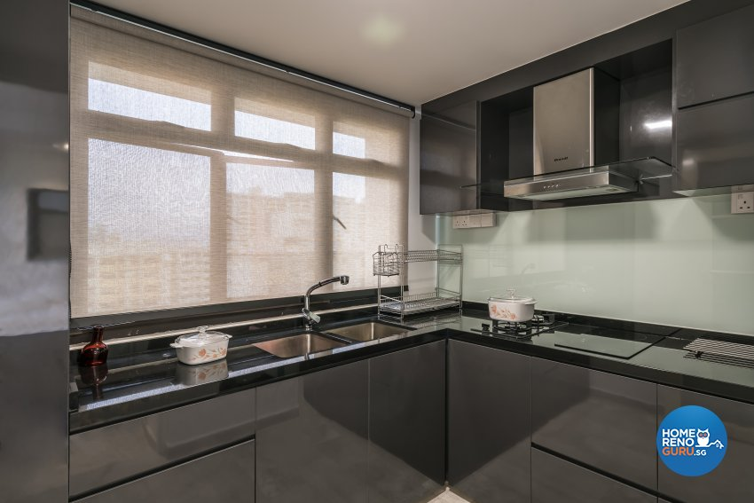 Contemporary, Modern Design - Kitchen - HDB 3 Room - Design by Starry Homestead Pte Ltd