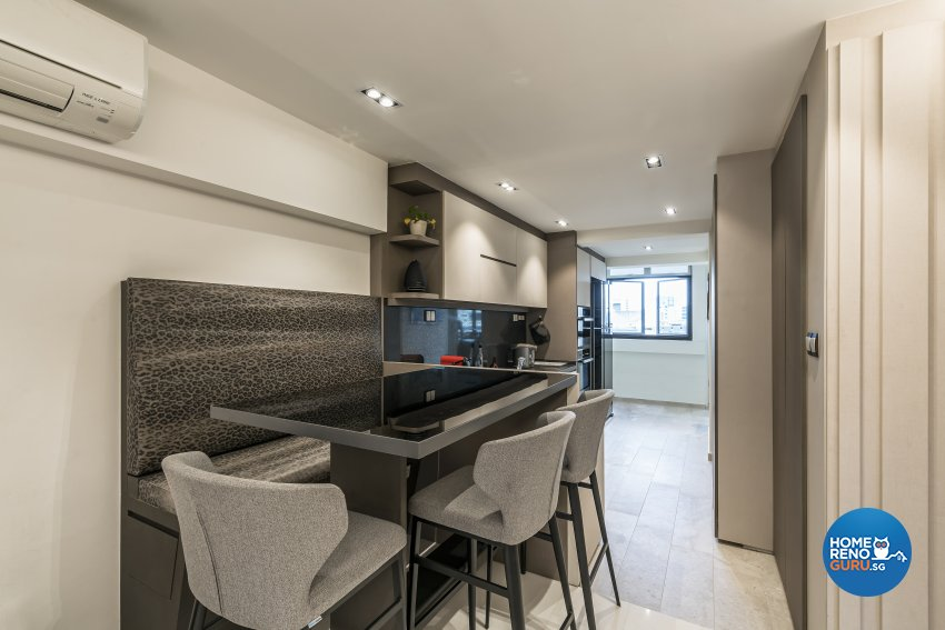 Contemporary, Modern Design - Dining Room - HDB 3 Room - Design by Starry Homestead Pte Ltd
