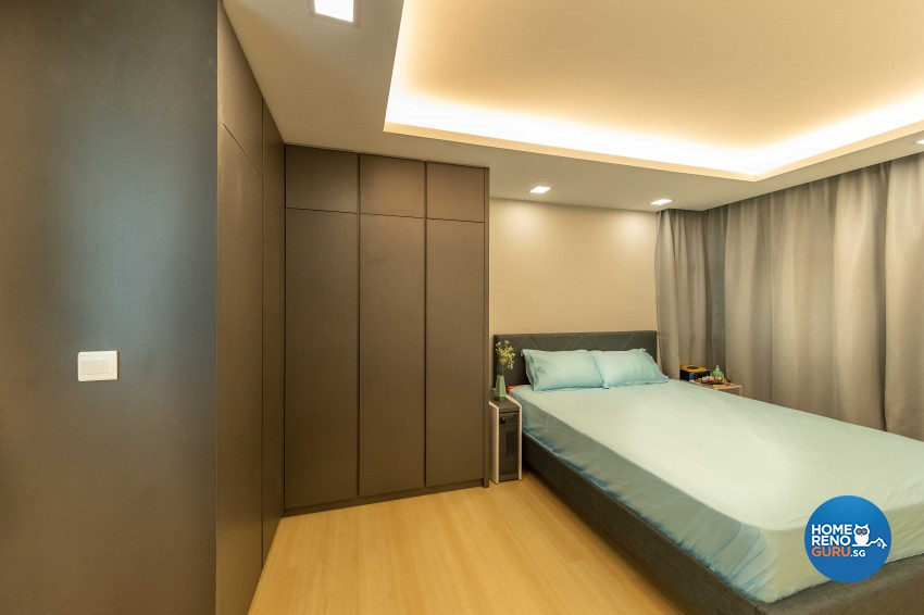 Modern, Scandinavian Design - Bedroom - HDB 5 Room - Design by Starry Homestead Pte Ltd
