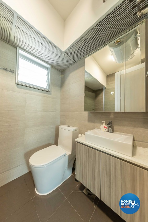 Modern, Scandinavian Design - Bathroom - HDB 5 Room - Design by Starry Homestead Pte Ltd