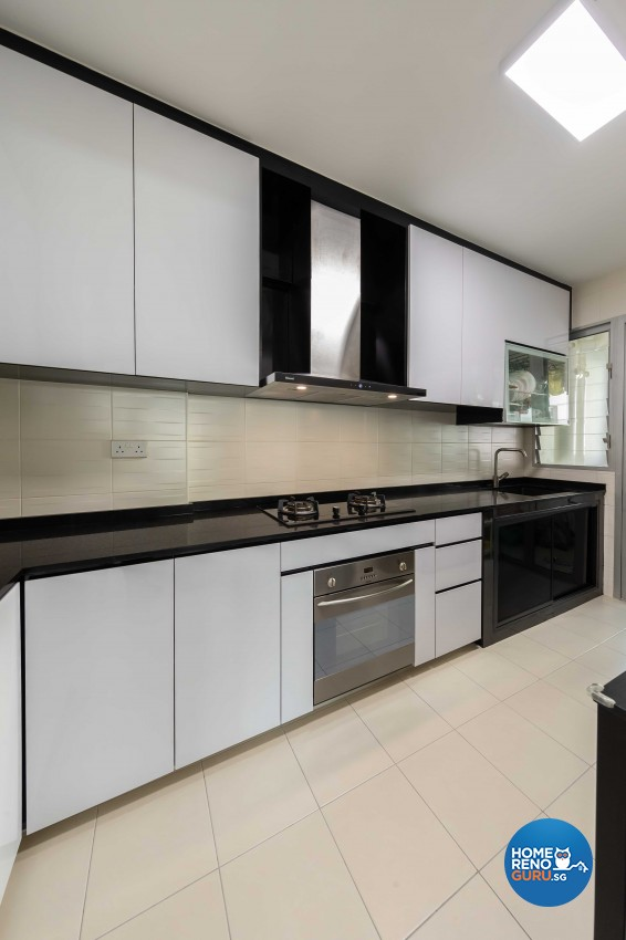 Modern, Scandinavian Design - Kitchen - HDB 5 Room - Design by Starry Homestead Pte Ltd