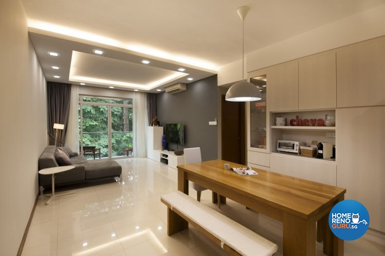Contemporary, Minimalist, Scandinavian Design - Living Room - Condominium - Design by Starry Homestead Pte Ltd