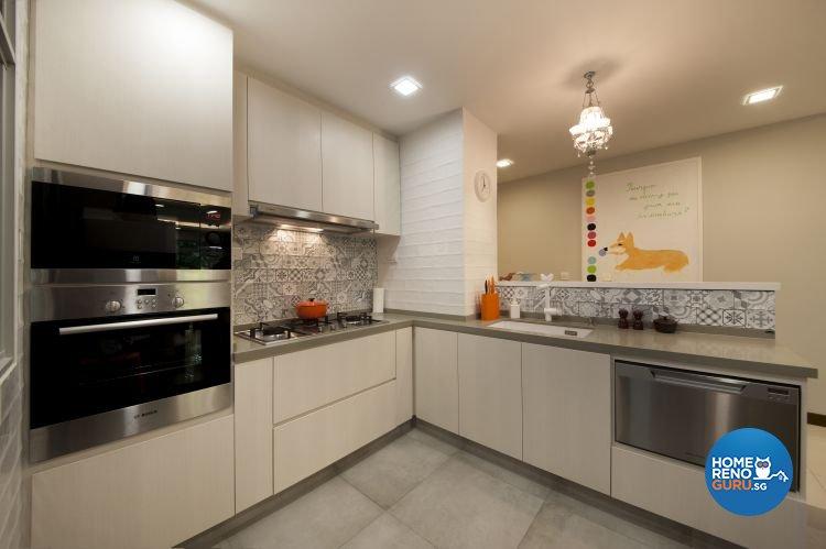 Contemporary, Minimalist, Scandinavian Design - Kitchen - Condominium - Design by Starry Homestead Pte Ltd