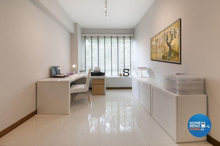 Contemporary, Minimalist, Scandinavian Design - Study Room - Condominium - Design by Starry Homestead Pte Ltd