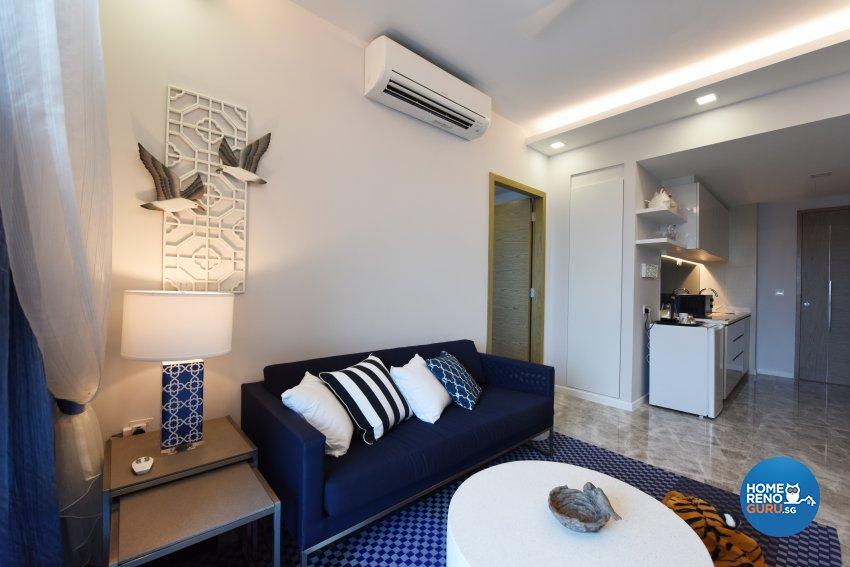 Mediterranean Design - Living Room - Condominium - Design by Starry Homestead Pte Ltd