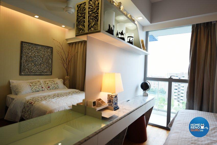 Mediterranean Design - Bedroom - Condominium - Design by Starry Homestead Pte Ltd
