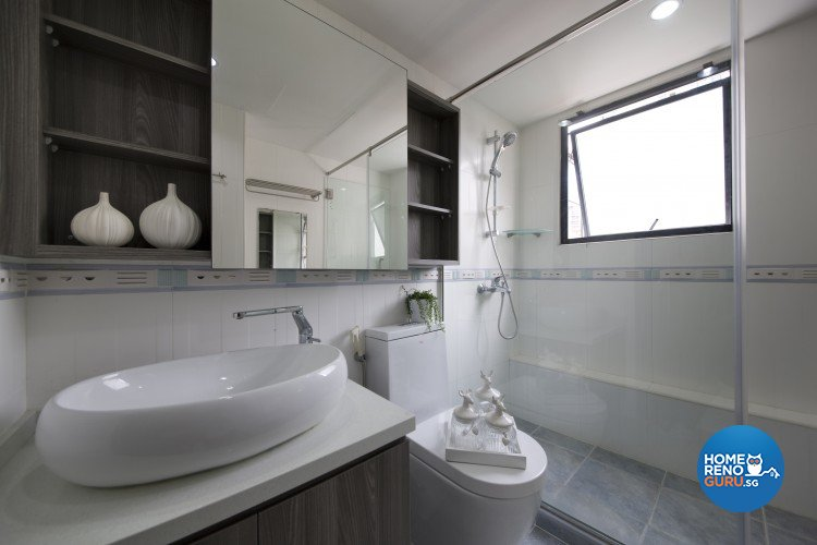 Contemporary, Modern Design - Bathroom - Condominium - Design by Starry Homestead Pte Ltd
