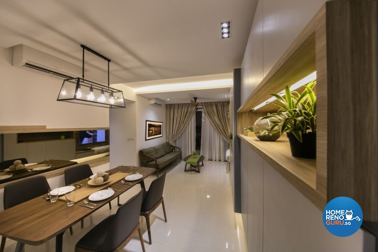 Minimalist, Modern Design - Living Room - Condominium - Design by Starry Homestead Pte Ltd