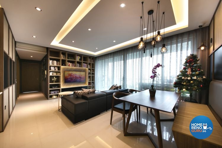 Modern, Scandinavian Design - Living Room - Condominium - Design by Starry Homestead Pte Ltd