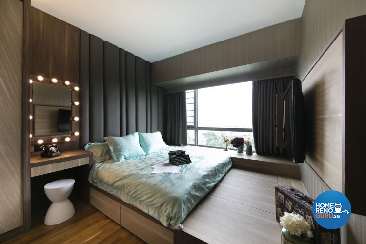 Modern, Scandinavian Design - Bedroom - Condominium - Design by Starry Homestead Pte Ltd