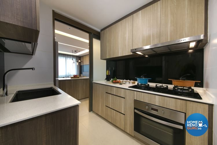Modern, Scandinavian Design - Kitchen - Condominium - Design by Starry Homestead Pte Ltd