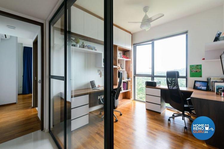 Industrial, Minimalist, Scandinavian Design - Study Room - Condominium - Design by Starry Homestead Pte Ltd