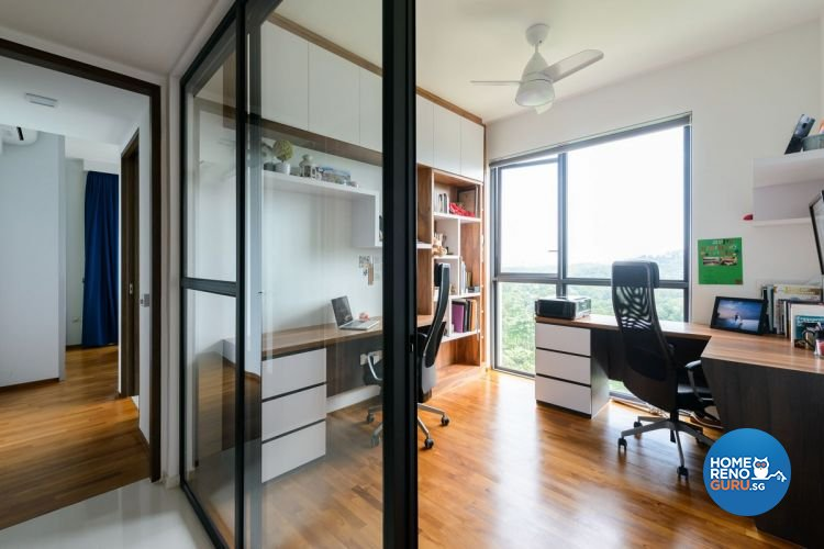 Industrial, Minimalist, Scandinavian Design - Study Room - Condominium - Design by Starry Homestead Pte Ltd