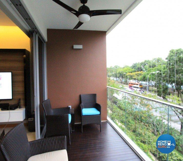 Classical, Modern Design - Balcony - Condominium - Design by Starry Homestead Pte Ltd