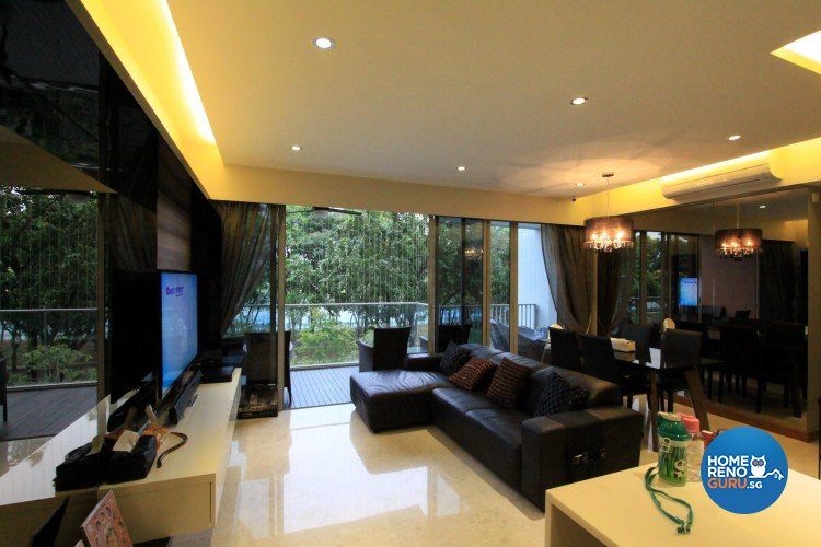 Classical, Modern Design - Living Room - Condominium - Design by Starry Homestead Pte Ltd