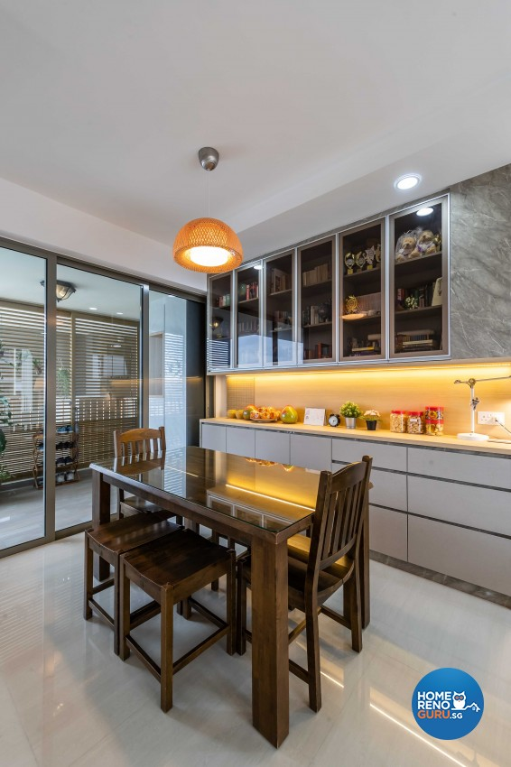 Scandinavian Design - Kitchen - Condominium - Design by Starry Homestead Pte Ltd