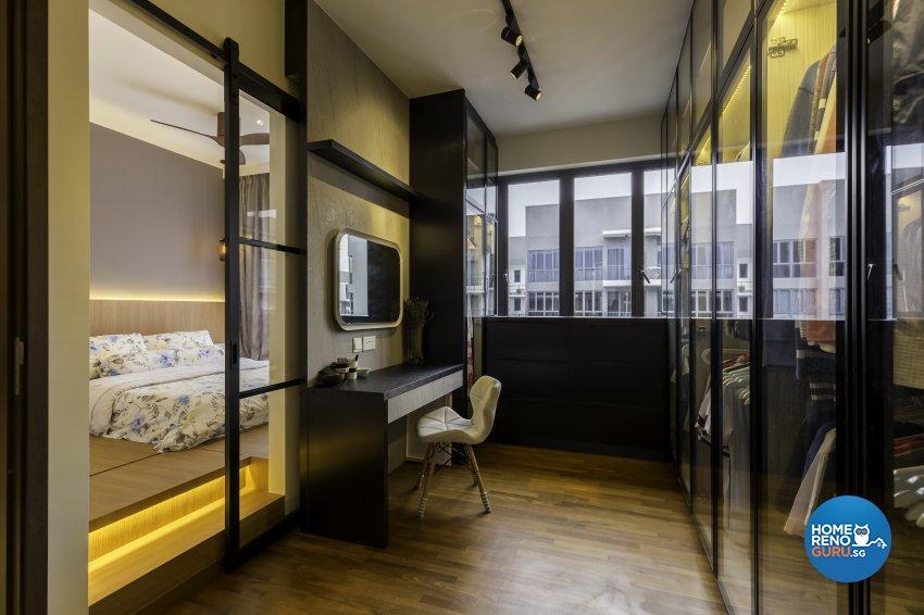Industrial Design - Bedroom - Condominium - Design by Starry Homestead Pte Ltd