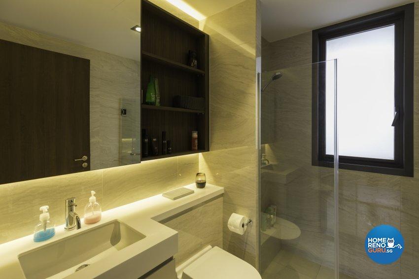 Industrial Design - Bathroom - Condominium - Design by Starry Homestead Pte Ltd