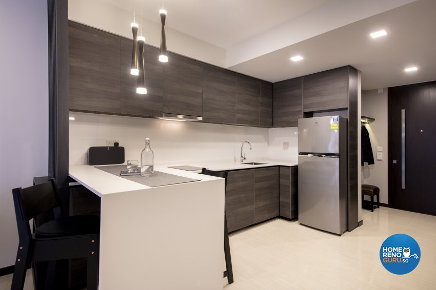 Minimalist, Modern Design - Dining Room - Condominium - Design by Starry Homestead Pte Ltd